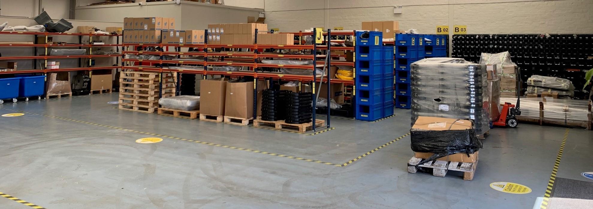 Green Machines warehouse