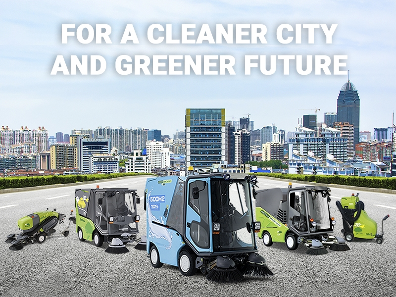 SMALL STREET SWEEPERS ARE THE RIGHT CHOICE Featured