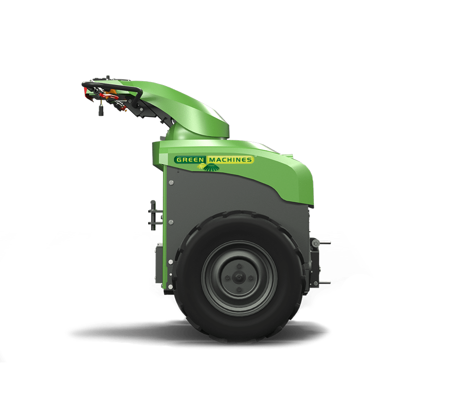 Green Machines 200ze side Eco Friendly Tool Carrier