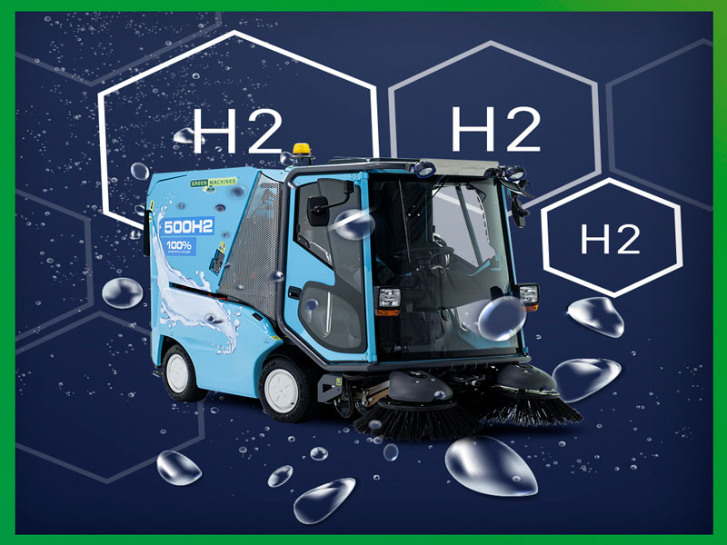 A HYDROGEN FUEL CELL SWEEPER CAN HELP YOUR CITY Feature
