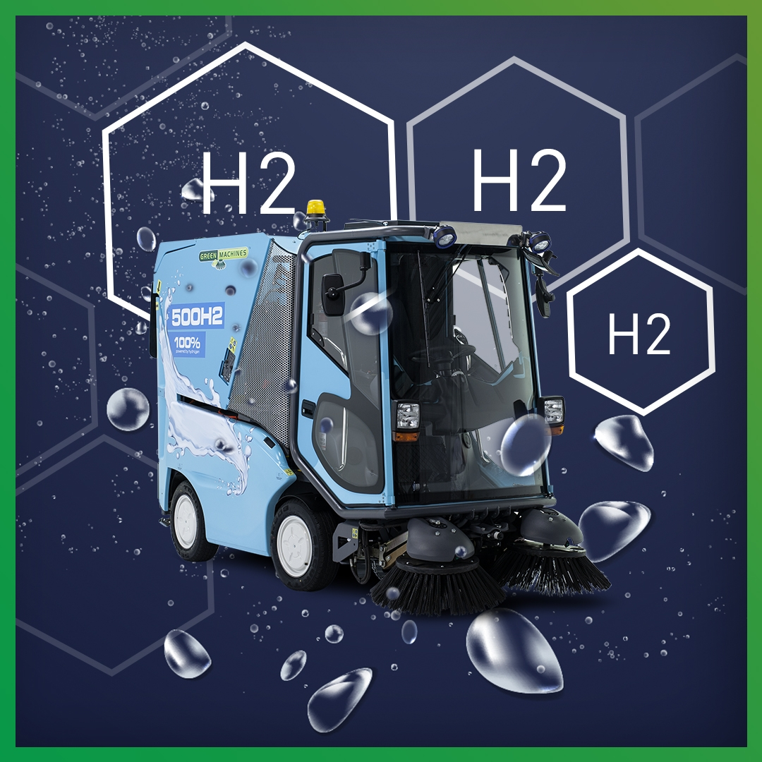 A HYDROGEN FUEL CELL SWEEPER CAN HELP YOUR CITY