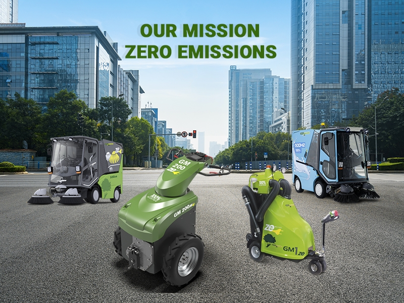 HYDROGEN OR BATTERY-POWERED SWEEPERS? Featured