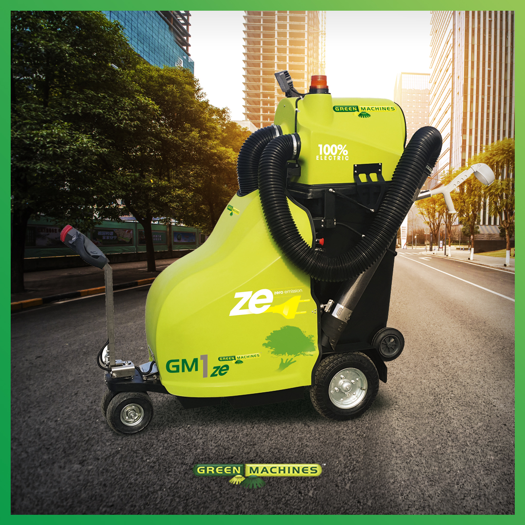 THE GM1ze CAN KEEP YOUR CITY CENTER CLEAN